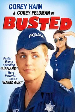 Busted movie poster.