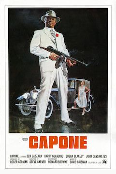 Capone movie poster.