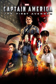 Captain America: The First Avenger movie poster.