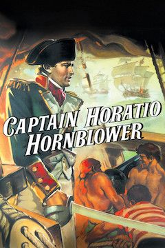 Captain Horatio Hornblower movie poster.