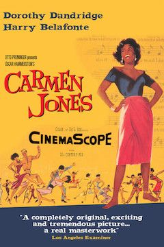 Carmen Jones movie poster.