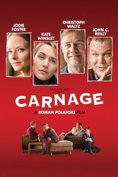 Poster for the movie Carnage