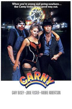 Carny movie poster.
