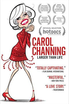 Carol Channing: Larger Than Life movie poster.