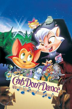 Cats Don't Dance movie poster.
