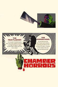Chamber of Horrors movie poster.