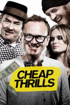 Cheap Thrills movie poster.