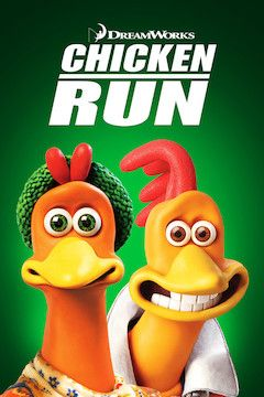 Chicken Run movie poster.