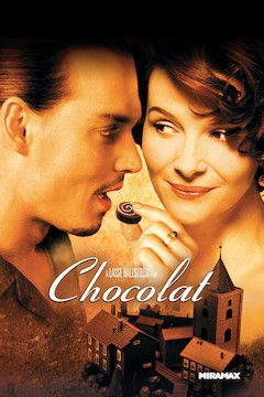 Chocolat movie poster.