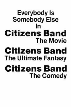 Citizen's Band movie poster.