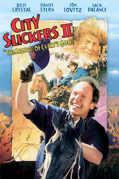 Poster for the movie City Slickers II: The Legend of Curly's Gold
