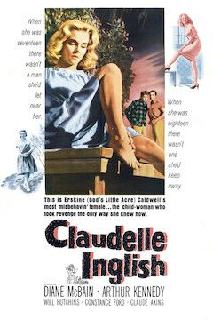 Poster for the movie Claudelle Inglish