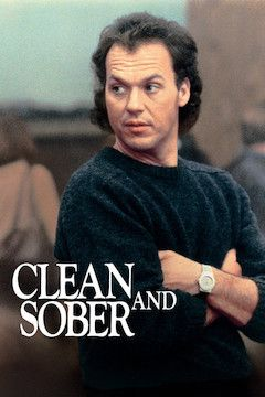 Poster for the movie Clean and Sober
