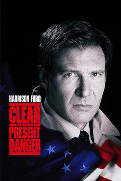 Clear and Present Danger movie poster.