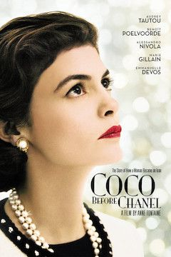 Poster for the movie Coco Before Chanel
