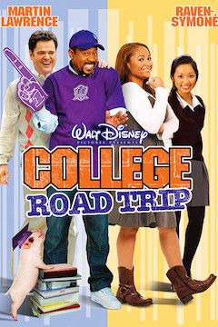College Road Trip movie poster.