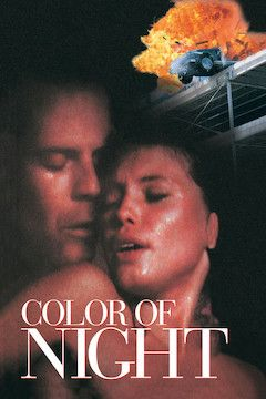 Color of Night movie poster.