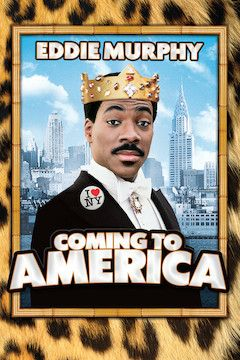 Coming to America movie poster.