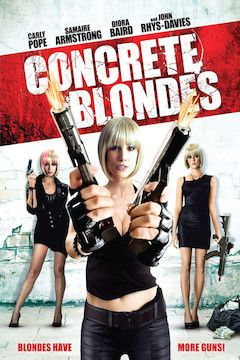 Concrete Blondes movie poster.