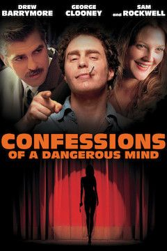 Confessions of a Dangerous Mind movie poster.