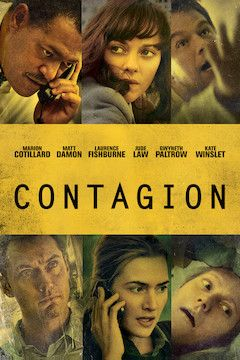 Contagion movie poster.