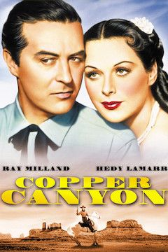 Poster for the movie Copper Canyon