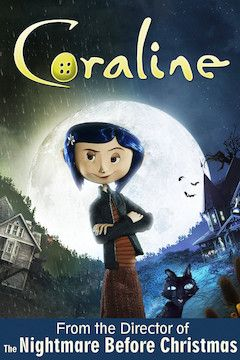 Poster for the movie Coraline