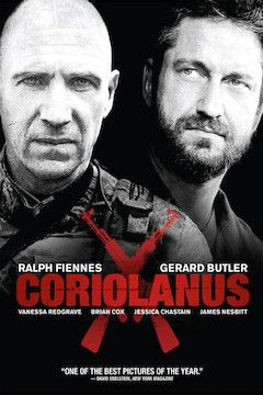 Coriolanus movie poster.