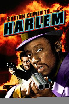 Cotton Comes to Harlem movie poster.