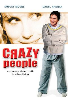 Crazy People movie poster.