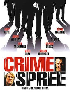 Poster for the movie Crime Spree