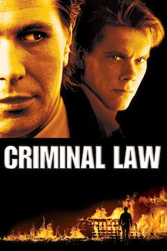 Criminal Law movie poster.