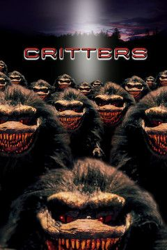 Critters movie poster.