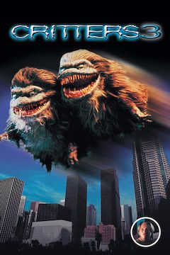Critters 3 movie poster.