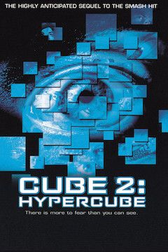 Cube 2: Hypercube movie poster.