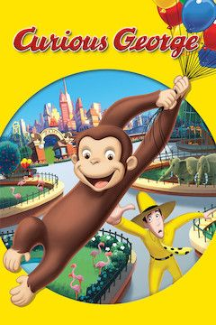 Poster for the movie Curious George