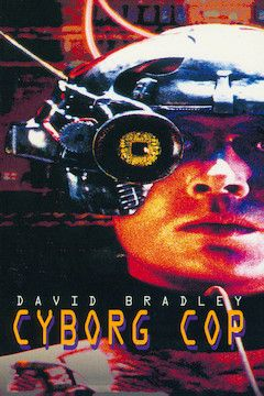 Cyborg Cop movie poster.