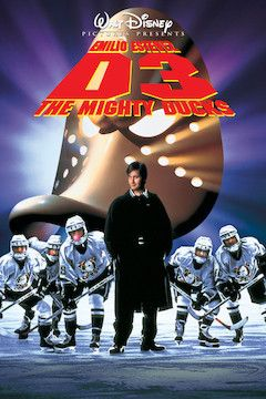 D3: The Mighty Ducks movie poster.