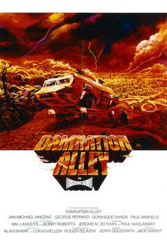Damnation Alley movie poster.