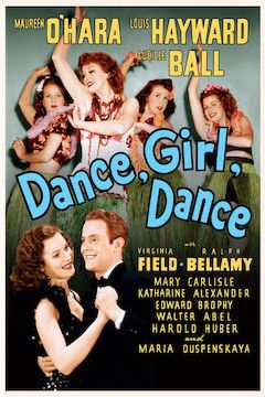 Poster for the movie Dance, Girl, Dance