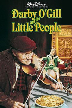 Darby O'Gill and the Little People movie poster.
