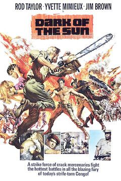 Poster for the movie Dark of the Sun