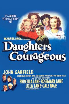 Daughters Courageous movie poster.