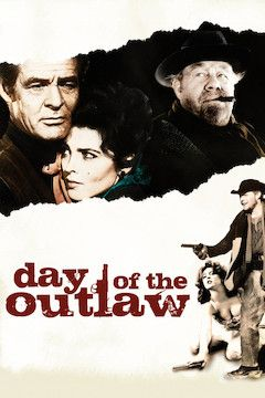 Day of the Outlaw movie poster.