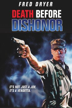 Death Before Dishonor movie poster.