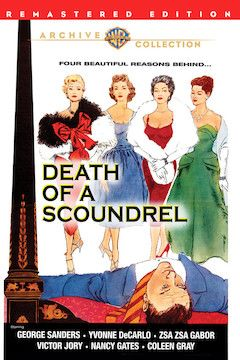 Poster for the movie Death of a Scoundrel
