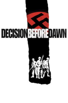 Decision Before Dawn movie poster.