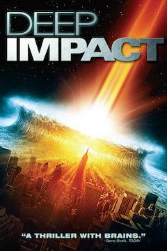 Deep Impact movie poster.