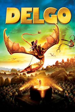 Delgo movie poster.