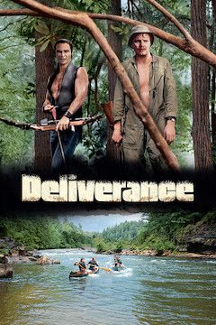 Deliverance movie poster.